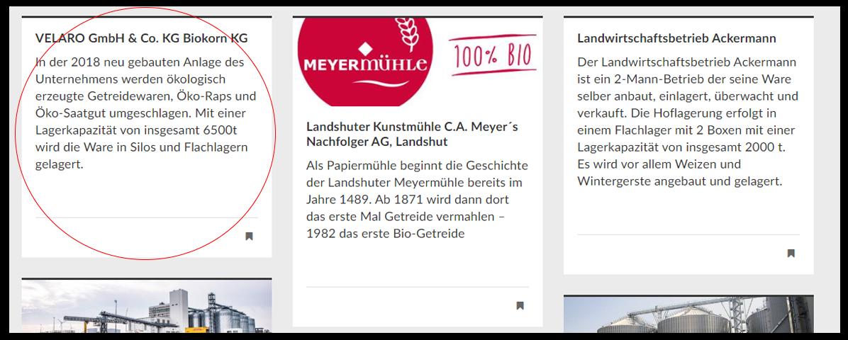 Screenshot der Abbildung der Velaro GmbH